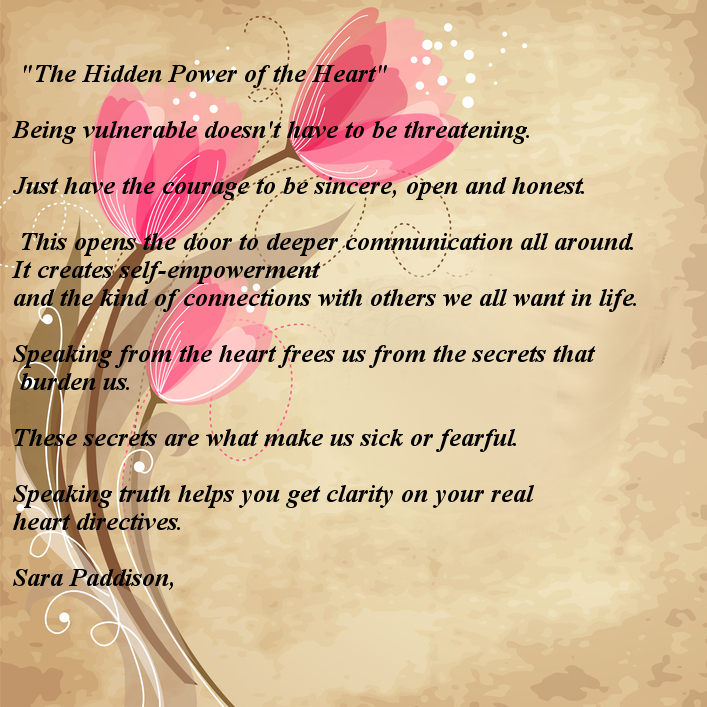 Hidden Power of the Heart - A POEM