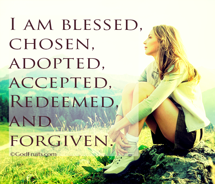 Redeemed, Adopted and Forgiven
