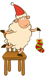 Christmas Sheep1