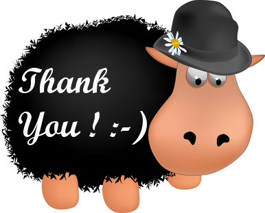 Black Sheep says Thanks